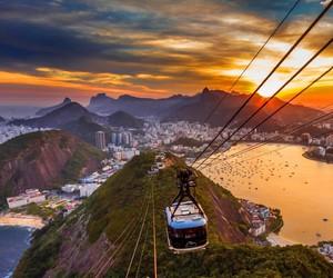 travel, places, and rio de janeiro image
