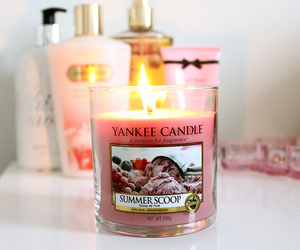 candle, yankee candle, and room image