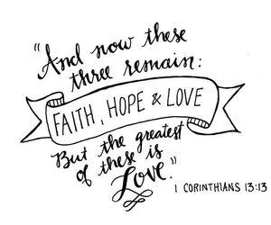 faith, love, and hope image