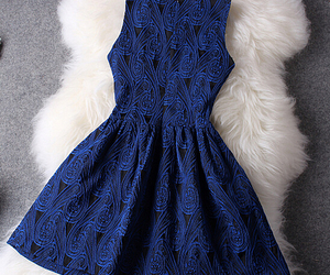 dress on image