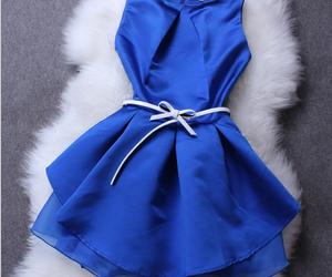 blue dress and dress on image