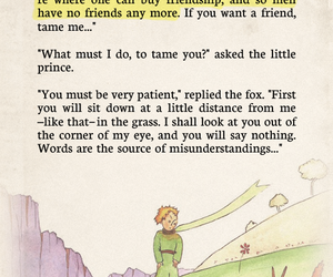quote, book, and friendship image