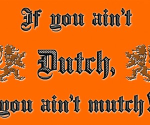dutch, proud, and kingsday image