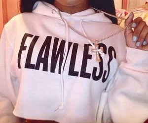 flawless, swag, and hoodie image