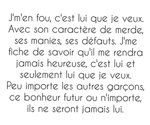 amour, french, and texte image
