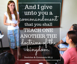 learning, lds, and teaching image