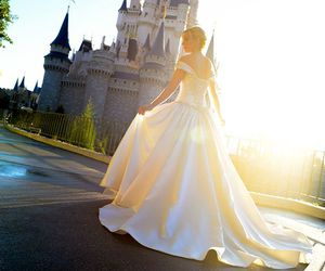 cinderella, disney, and wedding image