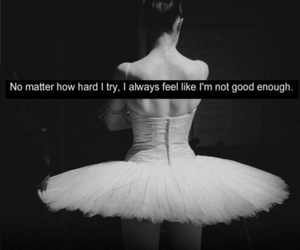 dance, try, and ballerina image