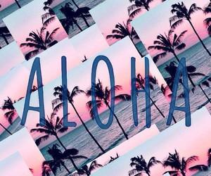 Aloha and wallpaper image