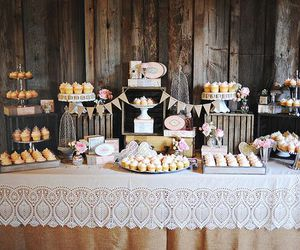 candy bar, comida, and cupcakes image
