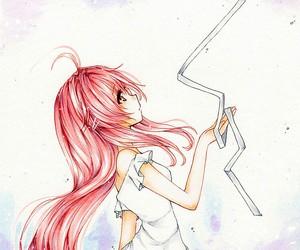 anime, deviantart, and emo image