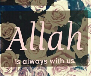 allah, alone, and proud image