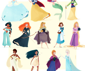 princess, disney, and princesas image