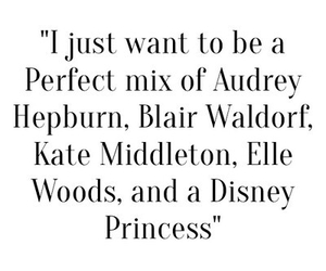 audrey hepburn, blair waldorf, and disney image