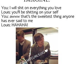 imagine, louis tomlinson, and one direction image
