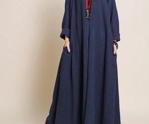 dress, long dress, and maxi dress image