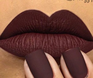 lips, nails, and makeup image