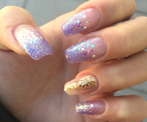 amazing, nails, and bling bling image