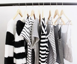 black and white, style, and clothes image