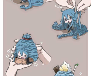 vocaloid, kawaii, and dessert image