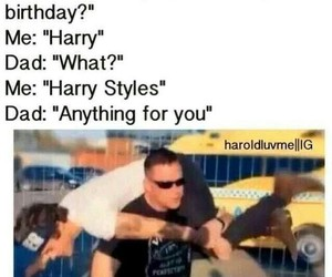 birthday, imagine, and Harry Styles image