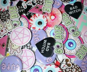 pastel goth, grunge, and kawaii image