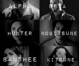 teen wolf, hunter, and alpha image