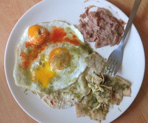 beans, breakfast, and eggs image