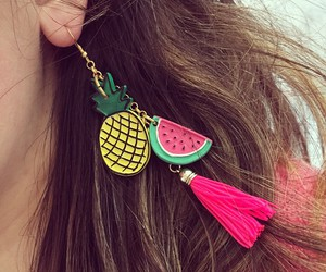 ananas, ear, and fashion image