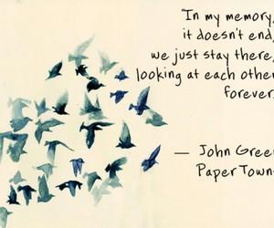 birds, books, and john green image