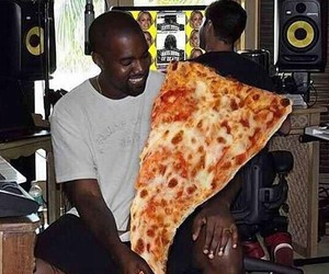 food, funny, and kanye west image