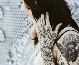 tattoo, hannah snowdon, and grunge image