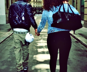 boy, couple, and swag image