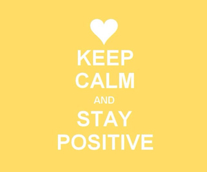 calm, keep, and positive image
