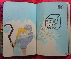 frozen, jack frost, and ship image