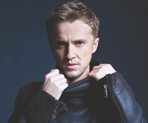 tom felton, draco malfoy, and harry potter image