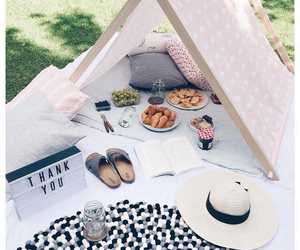 summer, food, and picnic image