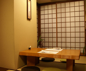 japan, room, and table image