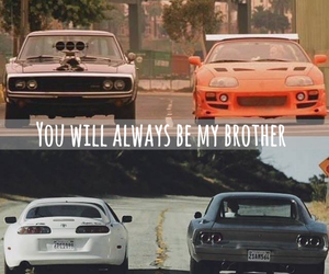 paul walker, dominic toretto, and Vin Diesel image