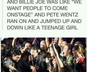 fall out boy and green day image