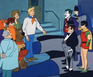 batman, DC, and scooby doo image