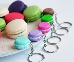 colorful, sweets, and french image