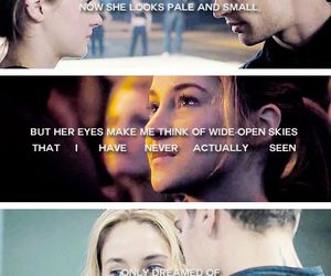 eyes, divergent, and tris image