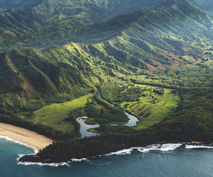 nature, hawaii, and landscape image