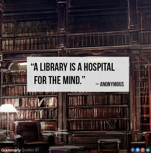 anonymous, books, and hospital image