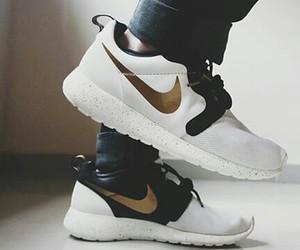 black, run, and sneakers image