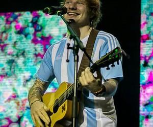 argentina and ed sheeran image