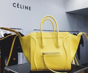 bag, celine, and fashion image