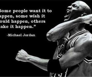 quote, michael jordan, and motivation image