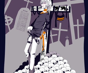 accelerator, anime, and cross image